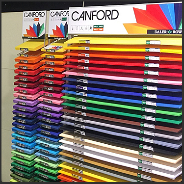 Daler Rowney Canford Card & Paper At Brighton Pullingers Art Shop
