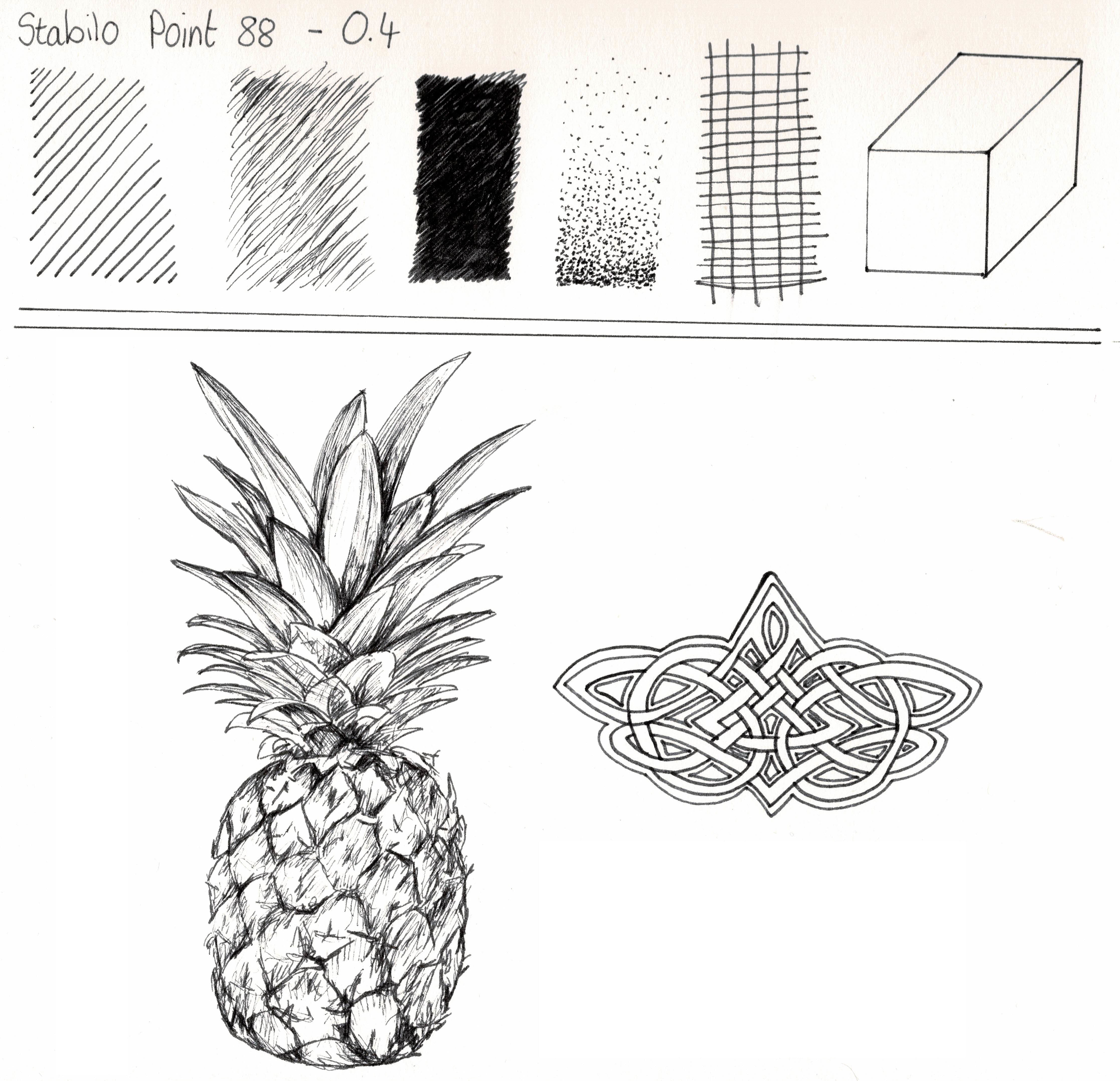 Drawing With Stabilo Point 88 Fineliners