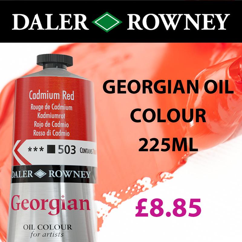 Georgian Oil Daler Rowney Oil Colour