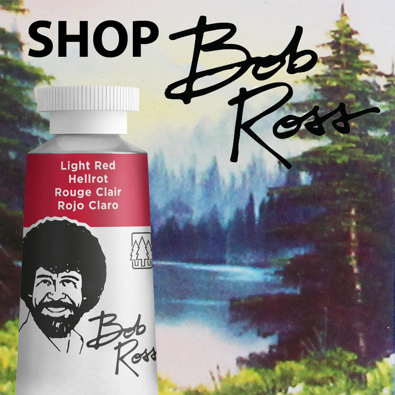 BUY BOB ROSS OIL COLOURS A selection of Paints, Sets, Mediums & Brushes