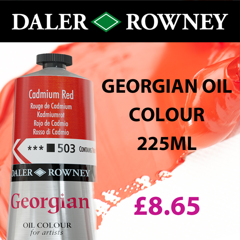Georgian Oil Daler Rowney Oil Colour