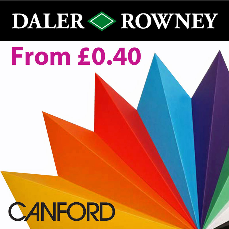 CANFORD Card & Paper A1 & A4 Sheets From £0.40
