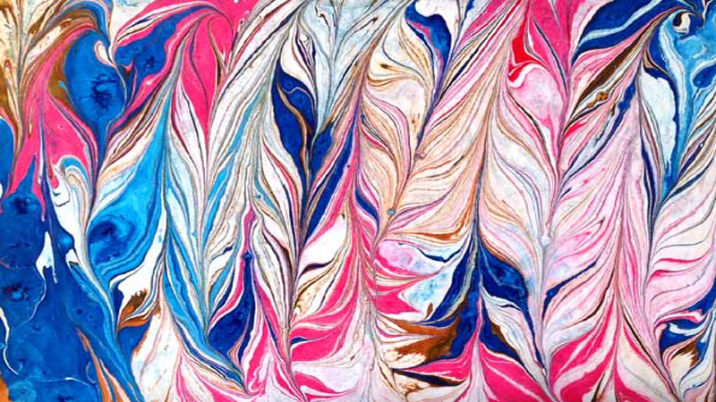 Marbling By Carol Straight From The Bottle