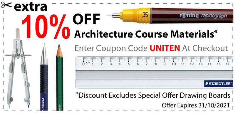 Architecture Course Discount Code