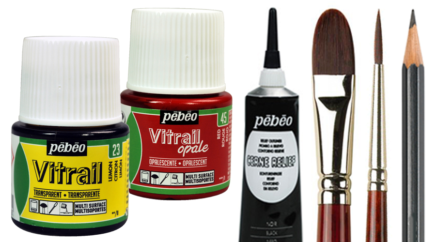 Art Supplies For Glass Painting