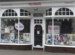 Pullingers Art shop in Farnham Surrey