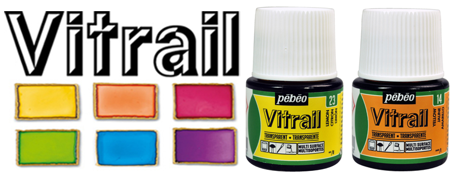 Pebeo Vitrail Glass Paints