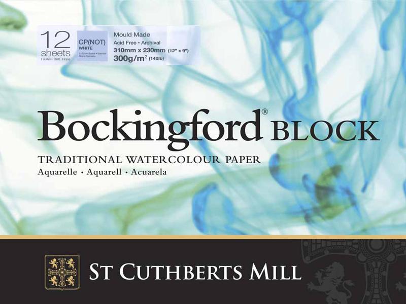 Buy Watercolour Blocks From Pullingers