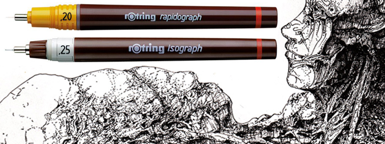 What Are The Differences Between A Rapidograph And Isograph Pen