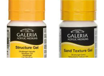 Galeria Acrylic Paint Texture Gels