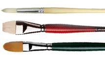 Oil & Acrylic Brushes