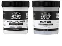 Artists' Acrylic Effect & Gel Mediums