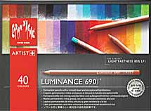 Caran d'Ache Luminance 6901 Pencils