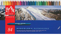 Neocolor II Water Soluble Wax Crayon