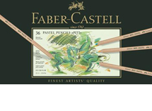 Faber Castell Pitt Pastel Pencils