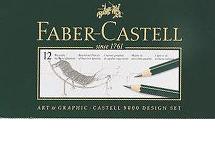 Faber Castell 9000 Black Lead Pencils