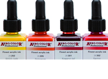 Schmincke Aero Color Professional Acrylic Ink