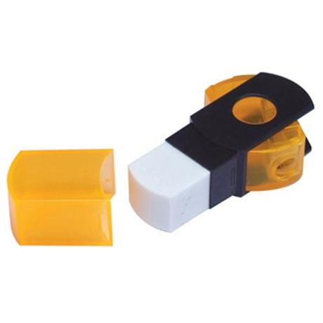 Jakar Two In One Combination Sharpener / Eraser Image 1
