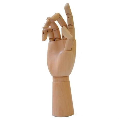 Wooden Hand 8 inch Image 1