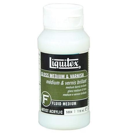 Liquitex Acrylic Gloss Medium & Varnish Image 1