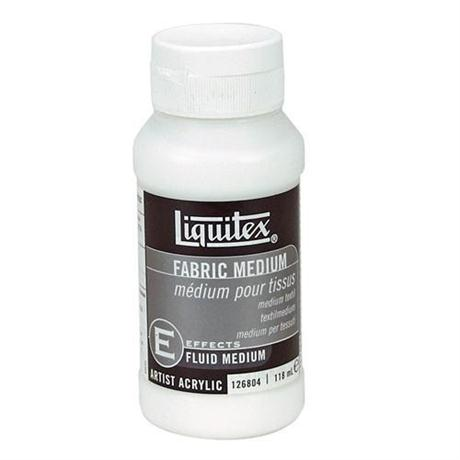 Liquitex Fabric Medium 118ml Bottle Image 1