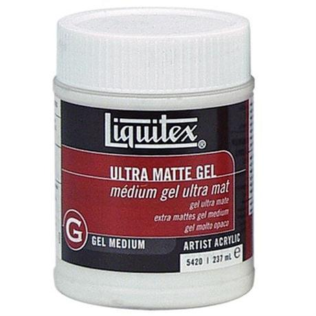 Liquitex Ultra Matt Gel Medium 237ml Jar Image 1