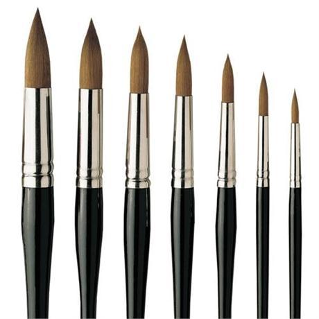 Pro Arte Series 101 Prolene Brushes - Round Image 1
