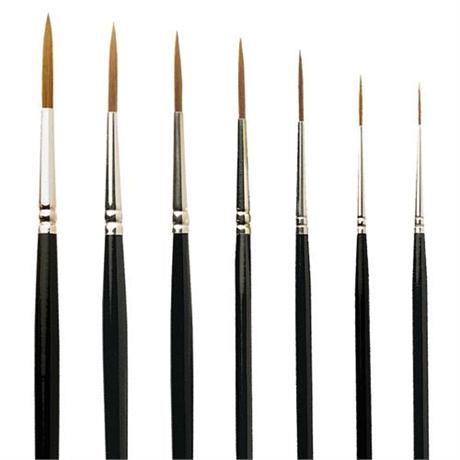 Pro Arte Series 103 Prolene Brushes - Rigger Image 1