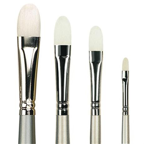 Pro Arte Series 201 Sterling Acrylix Brushes - Filbert Image 1