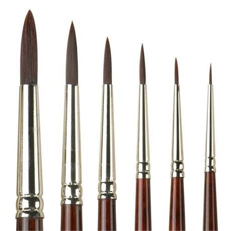 Pro Arte Series 202 Acrylix Brushes - Round Image 1