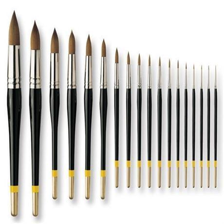 Pullingers Artists Value Brushes - Profile Round Image 1