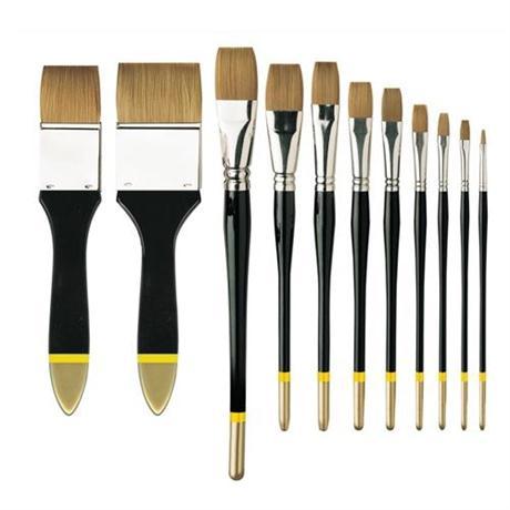 Pullingers Artists Value Brushes - Profile Flat Image 1