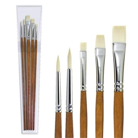 Pullingers Artists Value Ivory Taklon Brush Set Image 1