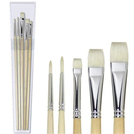 Pullingers Artists Value Super Hog Brush Set Image 1