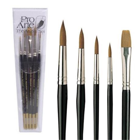 Pro Arte Prolene Brush Set W3 Image 1