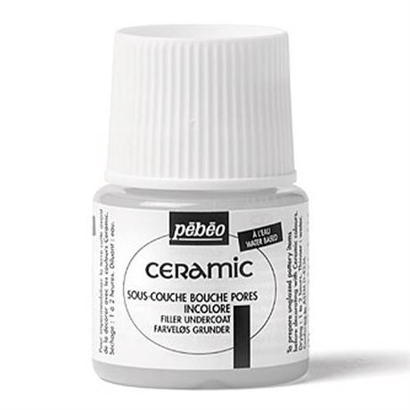 Pebeo Ceramic Filler Undercoat 45ml Image 1