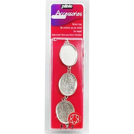 Pebeo Fantasy Jewellery Bracelet Oval Shape Image 1
