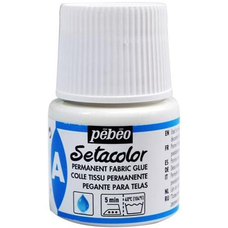 Pebeo Setacolor Permanent Fabric Glue 45ml Image 1