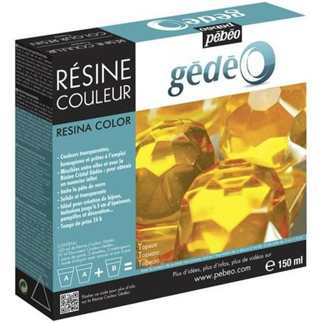 Gedeo Colour Resin 150ml TOPAZ Image 1
