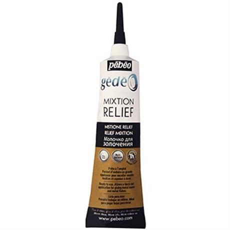 Gedeo Relief Gilding Paste 37ml Tube Image 1
