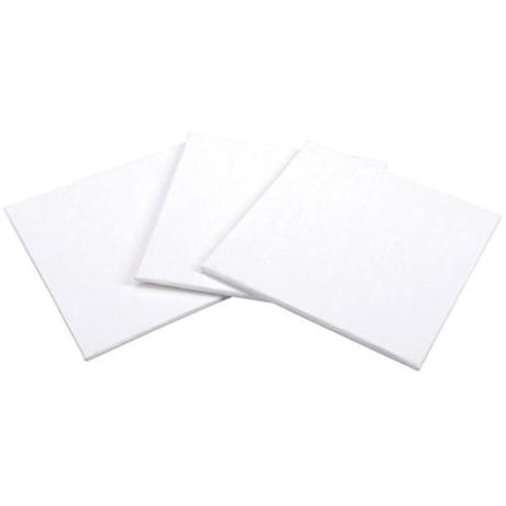 Pebeo Cotton Canvas Board 10 x 10cm SET OF 3 Image 1