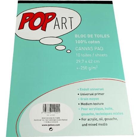 Pebeo POP ART Cotton Canvas Pads Image 1