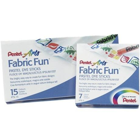 Pentel Fabric Fun Pastel Sets Image 1