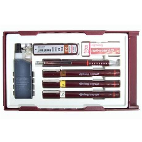 Rotring Isograph College Set .25/.35/.5 Image 1