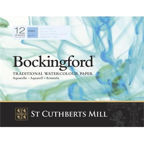 Bockingford Glued Watercolour Pads 140lbs / 300gsm 'NOT' Image 1