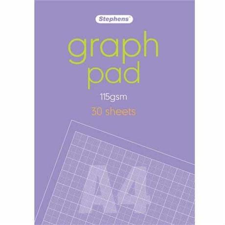 Stephens Graph Pads 115gsm Image 1