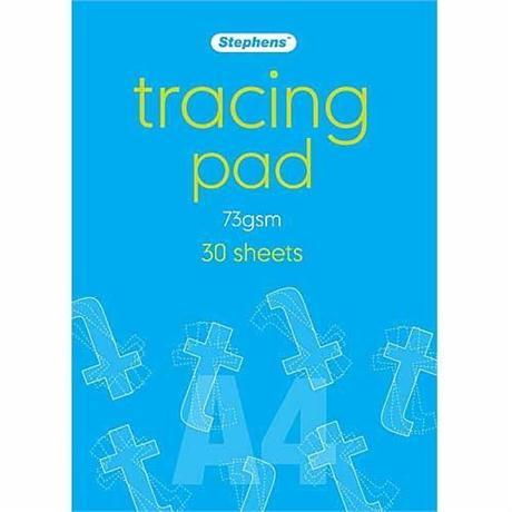 Stephens Tracing Pads 73gsm Image 1