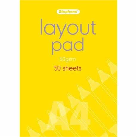 Stephens Layout Pads 50gsm Image 1
