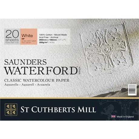 Saunders Waterford Water Colour HP Blocks 140lbs / 300gsm  Image 1