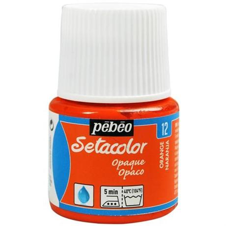 Pebeo Setacolor Fabric Paint Opaque Colours 45ml Image 1